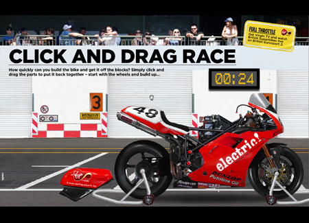 Click and Drag Race