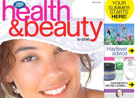 Boots health and beauty Ceros ezine