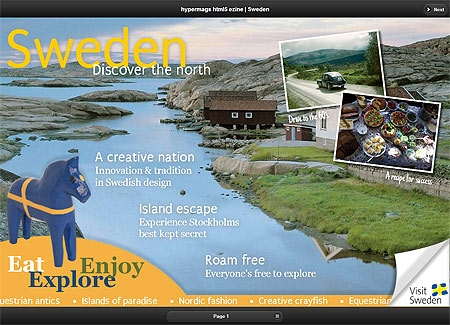 html5 Interactive Magazine
