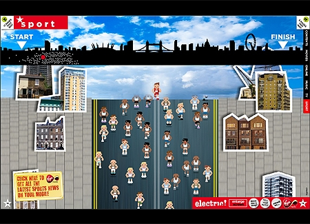 London marathon game