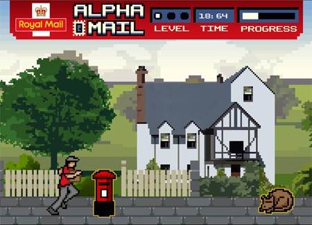 Royal Mail - Alpha Mail game