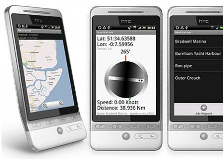 Android Naval Marine GPS Navigator