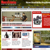 Mens Fitness Website
