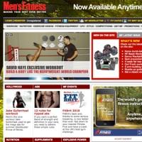 Mens Fitness Website