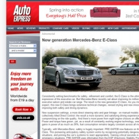 Mercedes-Benz Advertorial for Auto Express