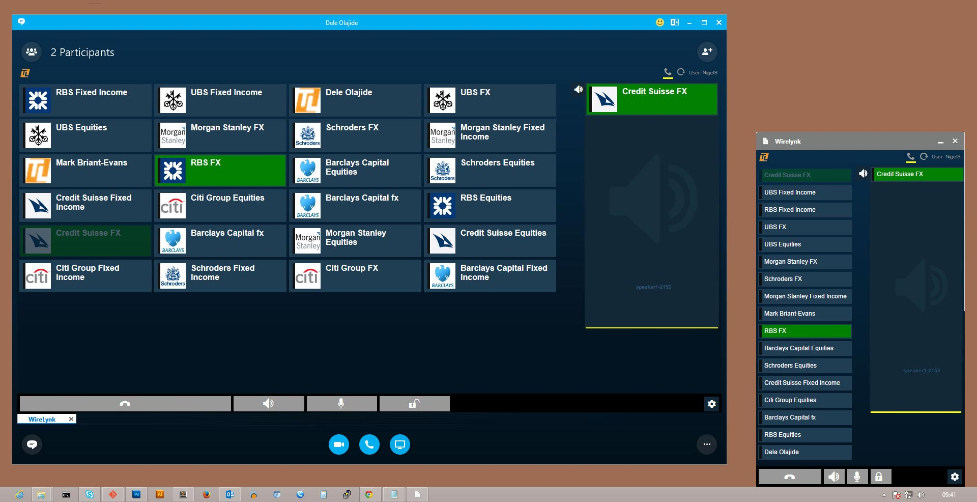 Wirelynk Unified Communications UI